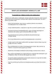 Dansk - Rådgivning og kurser i transport af farligt gods