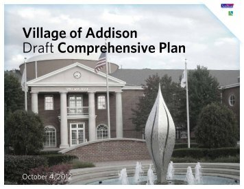 Village of Addison Draft Comprehensive Plan
