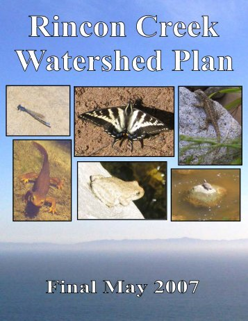 Final Rincon Creek Watershed Plan - State of California