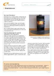 Brændeovne - Energitjenesten