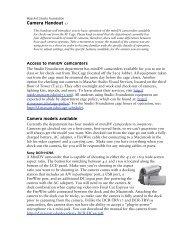 Camera Handout v.1 - MassArt Studio Foundation