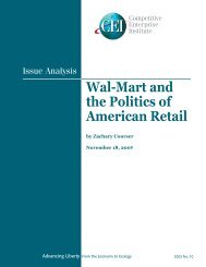 Wal-Mart and the Politics of American Retail - Competitive ...