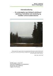 Masterprojekt og bilag - Dokumenter - Syddansk Erhvervsskole