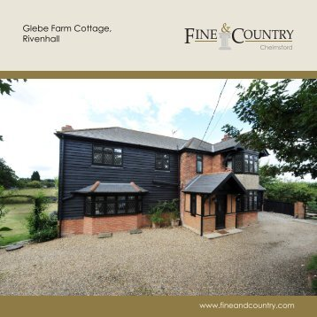 Glebe Farm Cottage, Rivenhall - Fine & Country