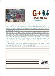 Berufe Global Gesundheit (pdf) - Über EPIZ