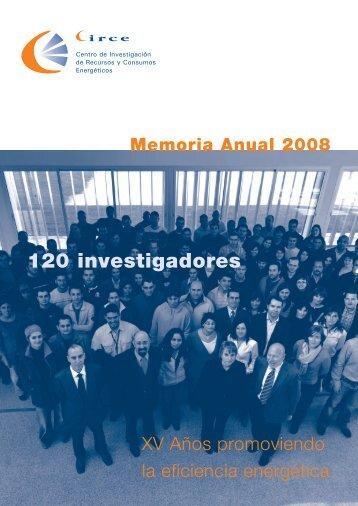 120 investigadores - circe - Universidad de Zaragoza