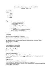 Protokoll vom 22.07.2010 (PDF) - StugA Geowissenschaften der ...