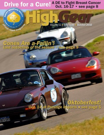 Drive For A Cure! - Rocky Mountain Region Porsche Club - Porsche ...