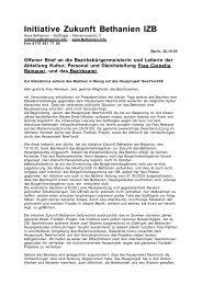 Initiative Zukunft Bethanien - IZB - Haus Bethanien – Südflügel