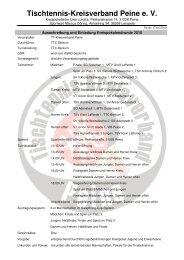 Tischtennis-Kreisverband Peine e. V.