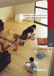 catálogo / tarifa calefacción suelo radiante eléctrico - Habitissimo