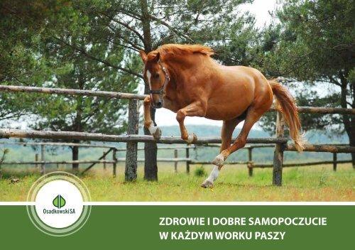 katalog z produktami ?ywieniowymi dla koni - Osadkowski SA