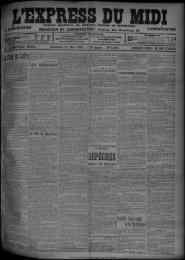 11 Mai 1902 - Bibliothèque de Toulouse
