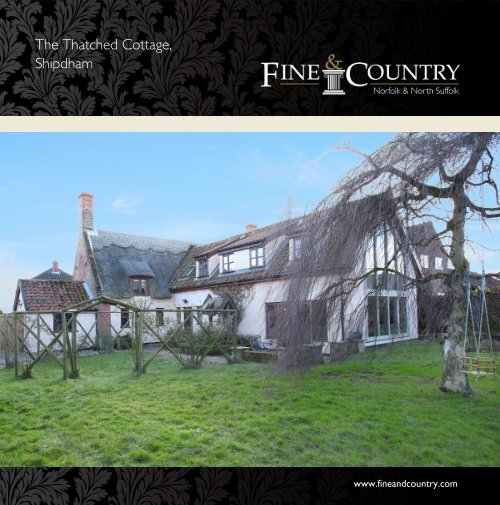 The Thatched Cottage, Shipdham - Fine & Country