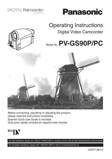 PV-GS90P/PC
