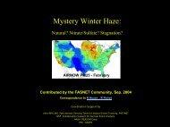 Mystery Winter Haze: - Capita