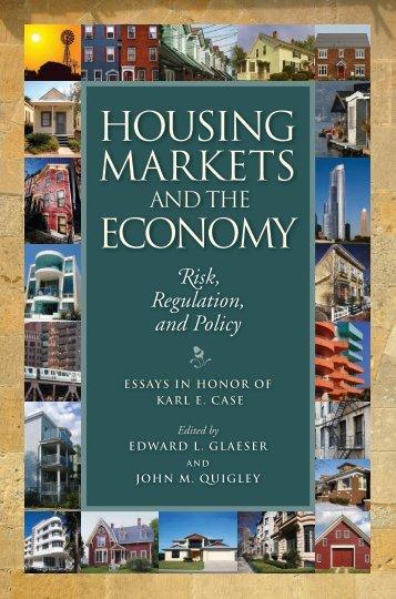 Housing Markets economy - Berkeley Program on Housing and ...
