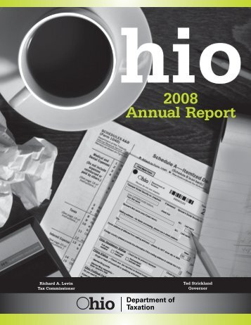 2008 Annual Report - Ohio Department of Taxation - State of Ohio