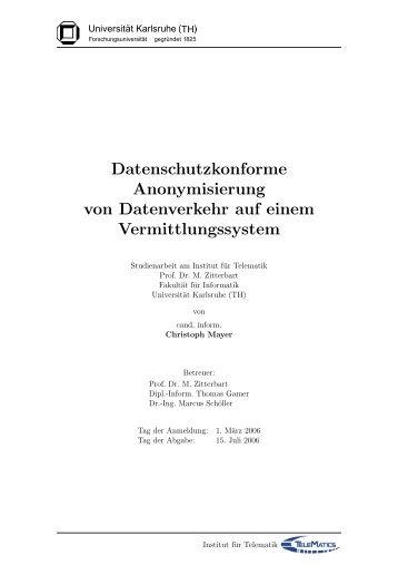 Not set pdfsubject - Karlsruher Institut für Technologie (KIT) - Institut ...