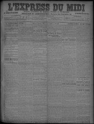 22 Janvier 1907 - Bibliothèque de Toulouse