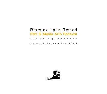 Berwick upon Tweed Film & Media Arts Festival - simprim studios
