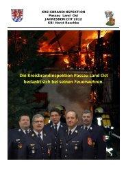 Die Kreisbrandinspektion Passau Land Ost bedankt sich bei seinen ...