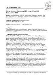 Læs referat - TH. LANGS HF & VUC