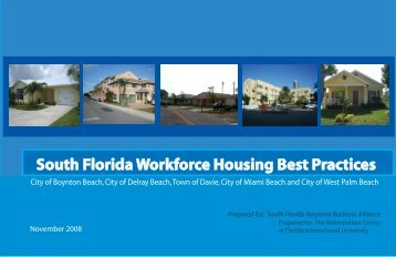 South Florida Workforce Housing Best Practices
