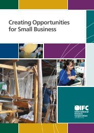 IFC SME broTM v1-R5.indd - Economic Growth
