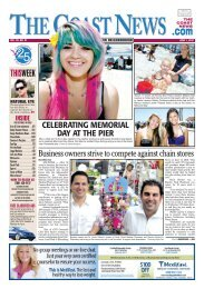 The Coast News, June 1, 2012