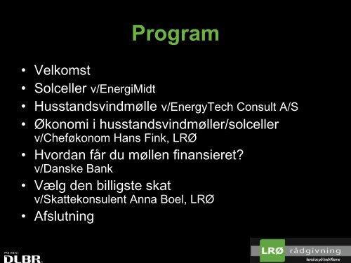 Vedvarende energi - LRØ