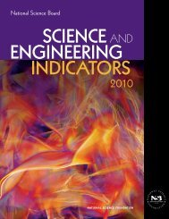 Science and Engineering Indicators 2010 - National Science ...