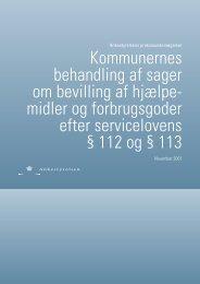 Praksisundersøgelse om hjælpemidler og forbrugsgoder