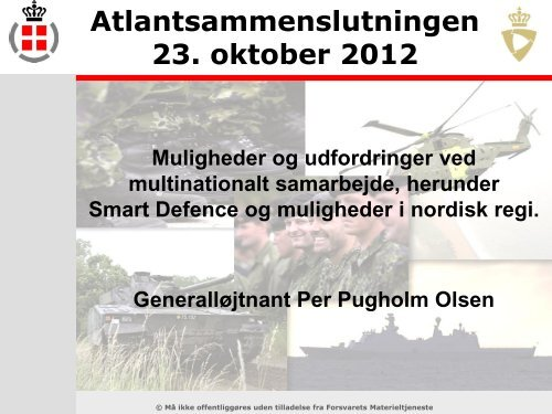 multinationalt samarbejde - Atlantsammenslutningen