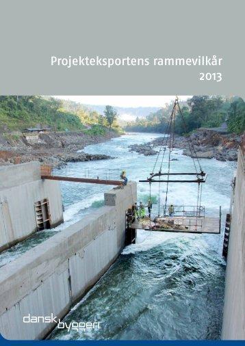 Eksportens rammevilkår (PDF) - Dansk Byggeri