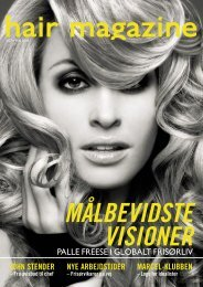 PALLE FREESE I GLOBALT FRISØRLIV - Hairmagazine.dk