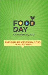 1 #FOF2050 - Food Day