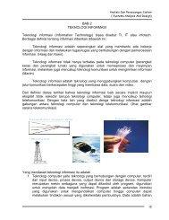 10 BAB 2 TEKNOLOGI INFORMASI Teknologi ... - Blog Bina Darma