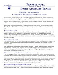 Is an advisory team in your future? - Penn State University
