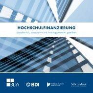 hochschulfinanzierung - Stifterverband für die Deutsche Wissenschaft