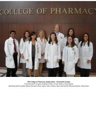 COP Ambassadors 2010-11.pdf - College of Pharmacy