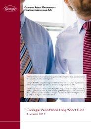 Carnegie WorldWide Long/Short Fund - Carnegie Asset Management