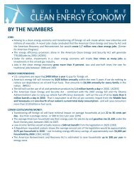 by the numbers - The Select Committee for Energy Independence ...
