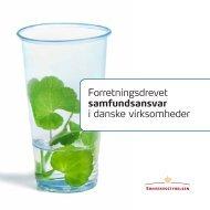Forretningsdrevet samfundsansvar i danske virksomheder