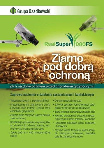 Zaprawa Real Super i Seed Star - Osadkowski SA