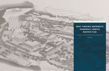 west virginia university evansdale campus master plan