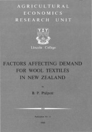 Factors affecting consumption of wool textiles in New Zealand