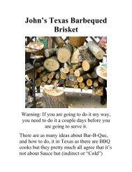John's Barbecued - The Geriatric Gourmet