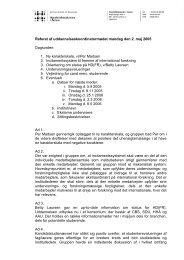 Referat af uddannelseskoordinatormødet mandag den 2. maj 2005 ...