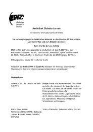 Mediothek Globales Lernen Oberschule - EPIZ ...